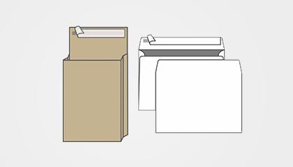 Конверты и пакеты почтовые