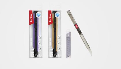 Ножи и лезвия канцелярские